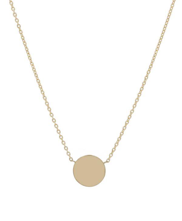 Náhrdelník kruh žlté zlato MOTIVO GOLD