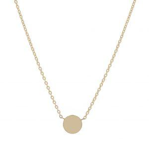 Náhrdelník kruh S žlté zlato MOTIVO GOLD