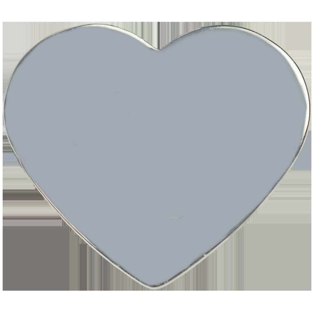 Medailon srdce striebro Motivo Gold