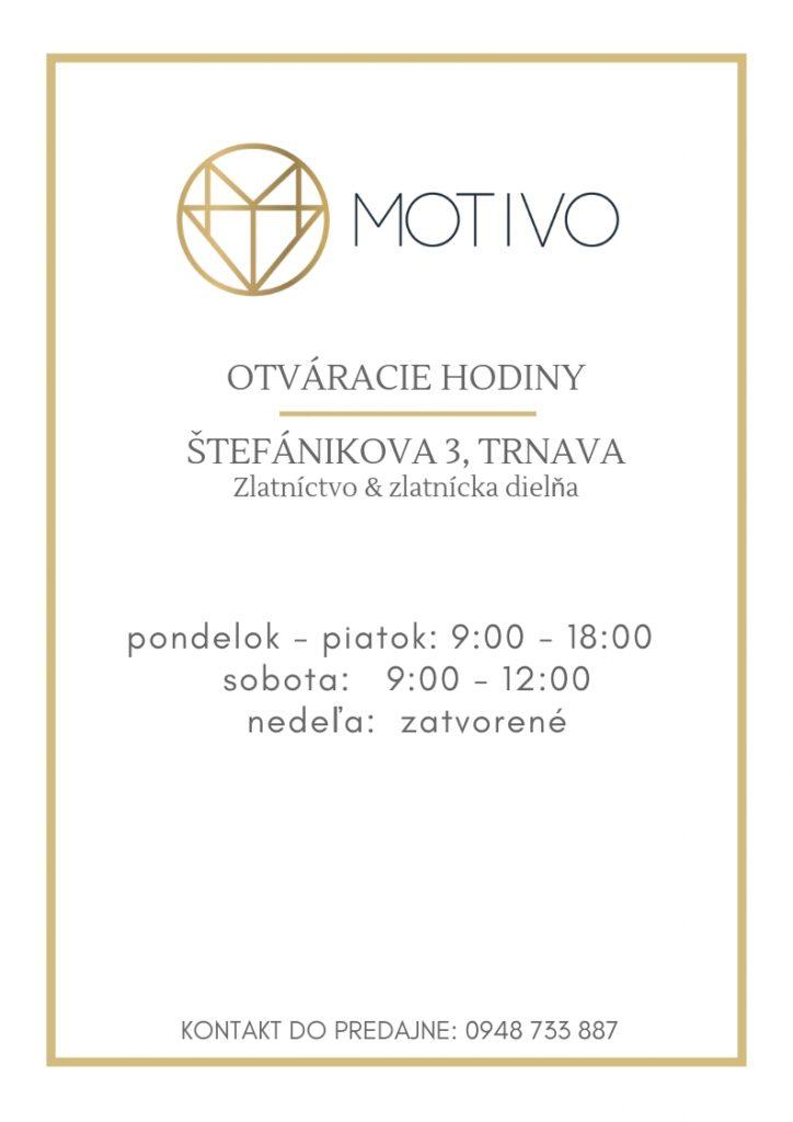 OTVARACIE HODINY MOTIVO GOLD